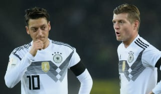 Mesut Ozil Toni Kroos Germany