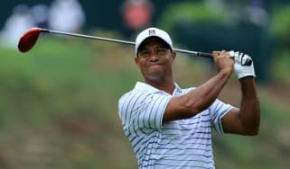 Tiger Woods at Valhalla during the PGA Championship