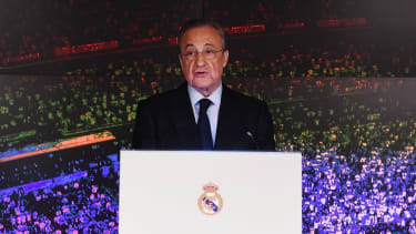 Real Madrid president Florentino Perez is also chairman of the European Super League