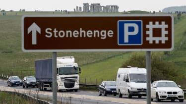 Stonehenge traffic