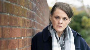 Sally Lindsay stars in Channel 5's seaside thriller Intruder