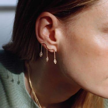 Kimai's Felicity earrings