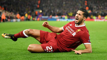 Emre Can Liverpool transfer out of contract