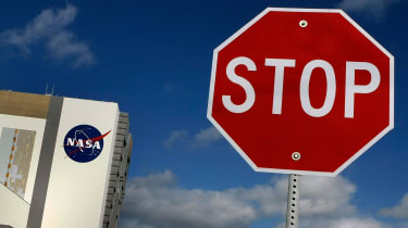 The Kennedy Space Center at Cape Canaveral, Florida