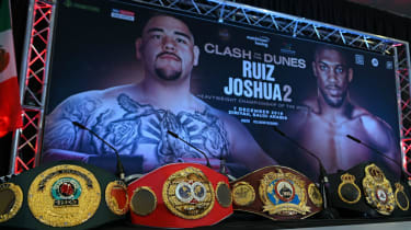 Andy Ruiz Jr vs. Anthony Joshua II: the WBA, IBF, WBO and IBO heavyweight belts are on the line in Saudi Arabia