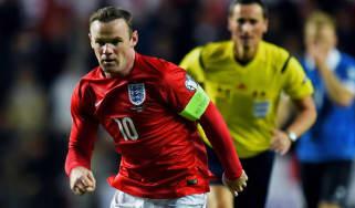 Wayne Rooney England v Estonia