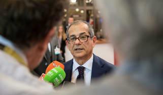 Italy's finance minister Giovanni Tria