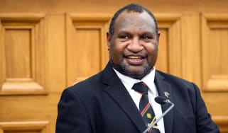 James Marape, the prime minister of Papua New Guinea