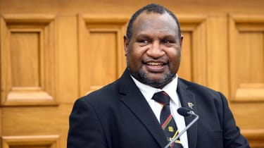 James Marape, the prime minister of Papua New Guinea