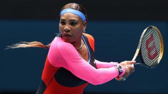 Serena Williams beat Laura Siegemund in the first round of the Australian Open