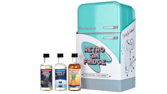 Retro gin fridge