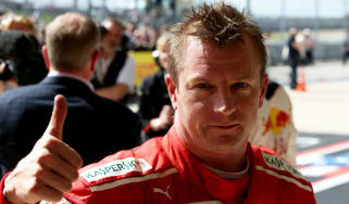 Ferrari's Kimi Raikkonen won the F1 United States Grand Prix in Austin on 21 October