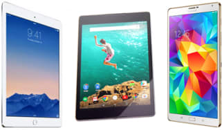 Apple iPad Air 2 vs Nexus 9 vs Samsung Galaxy Tab S