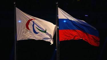 Russia Flag Paralympics Flag