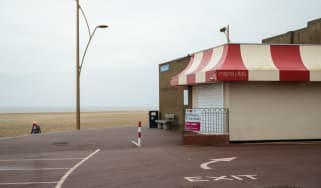 The seaside at Great Yarmouth
