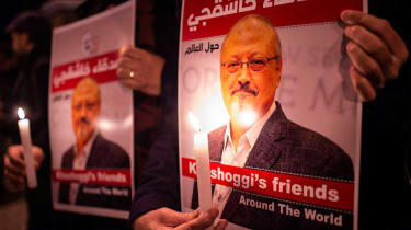 Jamal Khashoggi was reportedly murdered by Saudi agents in Istanbul in October