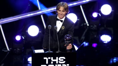 Luka Modric Fifa Best player awards