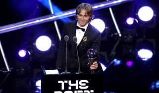 Luka Modric Fifa Best player awards