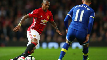 Ashley Young of Manchester United