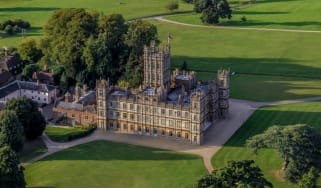 Downton Abbey was filmed at Highclere Castle