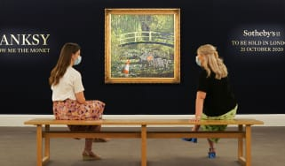 Banksy's Show me the Monet at Sotheby's