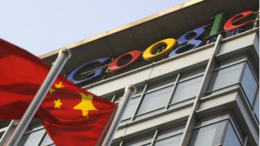 Google's former headquarters in Beijing