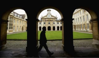 University students return for the spring term at Cambridge University