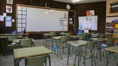 Madrid Spain school coronavirus