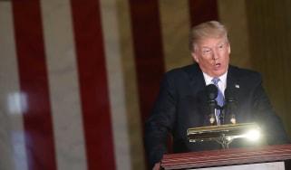 Donald Trump has accused Russia of breaching sanctions against North Korea