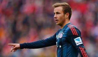 Bayern Munich's Mario Goetze