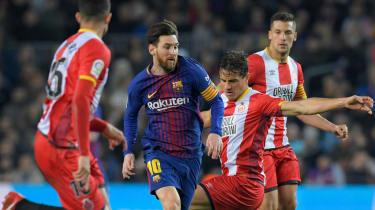 La Liga Girona vs. Barcelona Miami Hard Rock Stadium