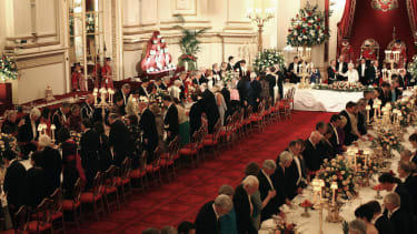 State Banquet in the Palace Ballroom