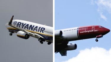 Ryanair Norwegian