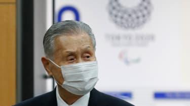 Tokyo Olympics president Yoshiro Mori