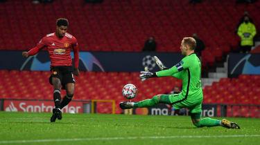 Marcus Rashford scored a hat-trick in Man Utd's 5-0 win over RB Leipzig