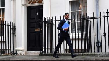 Rishi Sunak leaves 11 Downing Street