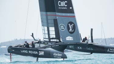Ban Ainslie, Land Tover BAR, America's Cup