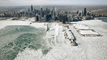 US polar vortex, Chicago