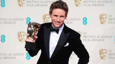 Eddie Redmayne at the EE British Academy Film Awards