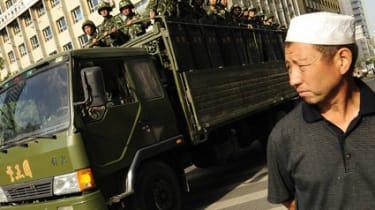Chinese riots in Xinjiang