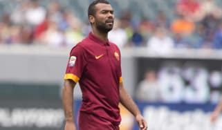Roma defender Ashley Cole