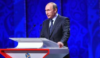 Vladimir Putin World Cup Boris Johnson Hitler