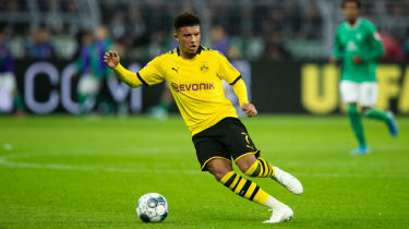 Borussia Dortmund and England winger Jadon Sancho