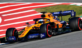 Carlos Sainz drives the McLaren MCL34 during the second pre-season test in Barcelona