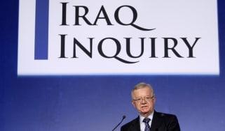 Chairman of the Iraq Inquiry John Chilcot,