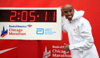 Mo Farah Chicago Marathon Tokyo 2020