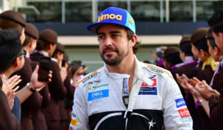 Fernando Alonso's final F1 race for McLaren was the 2018 Abu Dhabi Grand Prix