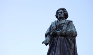 Beethoven statue in Germany