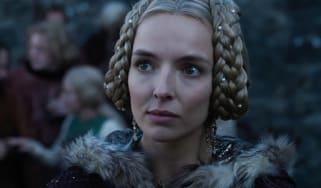 Jodie Comer as Marguerite de Carrouges in The Last Duel