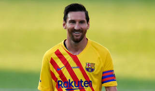 Lionel Messi plays for FC Barcelona and Argentina